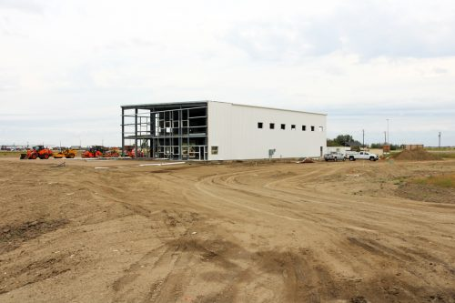 Image for New Southern Irrigation Building Takes Shape