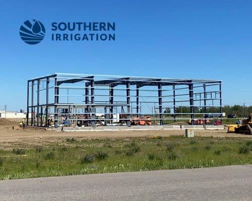 Image for Southern Irrigation's Building Going Up