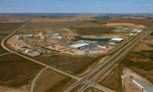Image for NEW Aerials of BizHub Industrial